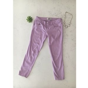 Jolt Purple Skinny Jeans - Size 3